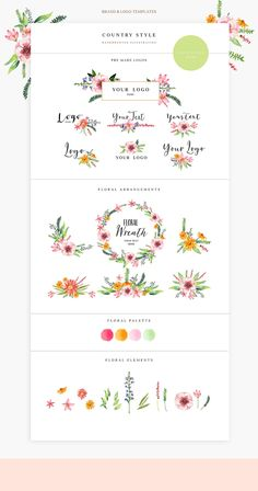 Pre-made brand&logo templates - Illustrations - 5