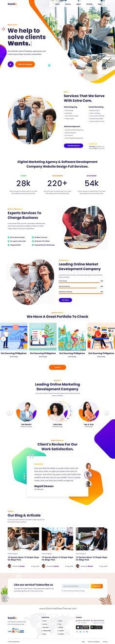 Homepage Design, Web Ui Design, Web Design Trends, Web Design Inspiration, Website Layout, Web Layout, It Company Website, Creative Web Design, Hr Management