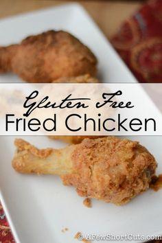 The best Gluten Free Fried Chicken #Recipe