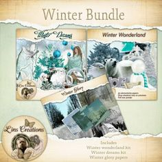 In this bundle you get two full kits and one set of papers that compliments both kits http://berryapplicious.com/store/index.php?main_page=product_info&cPath=1_156&products_id=6103
