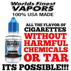 ALL THE FLAVOR OF CIGARETTES WITHOUT THE HARMFUL CHEMICALS OR TAR! ITS POSSIBLE!!!   VAPING HELPED MILLIONS STOP THE BURN.  JOIN THE VAPE MOVEMENT. LETS PUT OUT SMOKING.  Where there is No Smoke, There is No Fire.  Vaping:  Electronic Nicotine Delivery System  Get educated. Participate.  Support brands with integrity that are ambassadors for the vape movement. ❌⭕️❌⭕️❌ #worldsfinestvapors #best #eliquid made with #higherstandards #natural flavor extracts only! EXPECT #molecularPURITY in UR #v