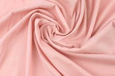 100% Cotton Baby Jersey in Rose Pink