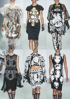 London Womenswear Print Highlights Part 2 – Spring/Summer 2015 catwalks