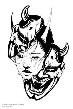 Black Tattoo Art, Dark Tattoo, Tattoo Flash Art, Black Tattoos, Dark Art Drawings, Tattoo Design Drawings, Tattoo Sketches, Japanese Tattoo Designs, Japanese Tattoo Art