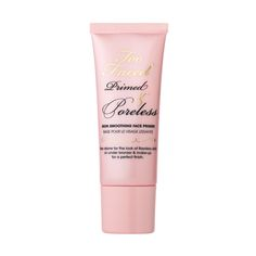 Primed & Poreless Skin-Smoothing Face Primer - Too Faced. The ULTIMATE cult-status worthy primer, probably in my top I like to use this in conjunction with COVER FX Anti Acne Gel Primer! Primer For Sensitive Skin, Best Primer For Oily Skin, Face Primer, Skin Primer, Too Faced Primer, Makeup Primer, Makeup Kit, Face Makeup, Makeup Routine