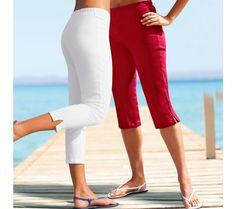 Korzárské kalhoty | blancheporte.cz #blancheporte #blancheporteCZ #blancheporte_cz #trousers Capri Pants, Fashion, Capri Trousers, Moda, La Mode, Fasion, Fashion Models, Trendy Fashion
