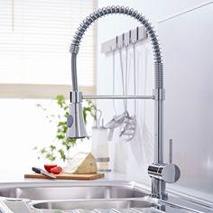 Chrome Pull-Down Spray Kitchen Tap - Image 2
