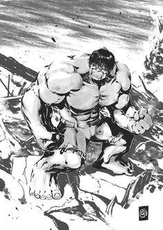 #Hulk #Fan #Art. (Hulk) By: Smolb. (THE * 5 * STÅR * ÅWARD * OF: * AW YEAH, IT'S MAJOR ÅWESOMENESS!!!™)[THANK U 4 PINNING!!!™<·><]<©>ÅÅÅ+(OB4E)       https://s-media-cache-ak0.pinimg.com/564x/bf/e1/91/bfe191d9d78f29ff82a99c4e320537ea.jpg
