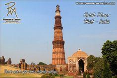 #QutabMinar, es elalminarde ladrillos más alto del mundo y un destacado ejemplo delarte islámico, siendo el monumento islámico más antiguo de Delhi. Situado dentro delcomplejo Qutben la ciudadindiade#Delhi, tiene una altura total de 72,5 metros. Su diámetro en la base es de 14,3 metros mientras que en su punto más alto es de 2,7 metros. #VenezolanosEnElMundo #RomarcaEnvios