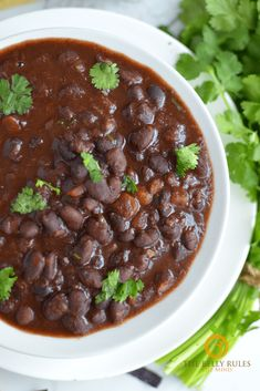 Spicy black bean soup is perfect for Meatless Mondays, or anytime you're craving a healthy meal. Made from scratch to control what goes in it. No more preservatives or high sodium added and obviously a lot less processed. Bean Soup Recipes, Healthy Soup Recipes, Vegan Recipes, Easy Recipes, Spicy Black Bean Soup Recipe, Crock Pot Tortellini, Dry Beans Recipe, Bean And Vegetable Soup, Lobster Bisque Soup