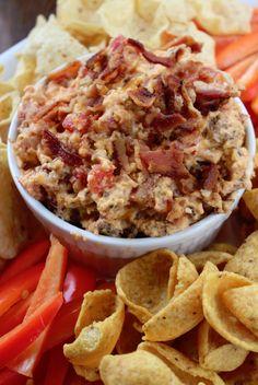 Crock Pot Bacon Cheeseburger Dip