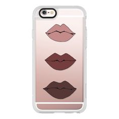 iPhone 6 Plus/6/5/5s/5c Case - Kylie Lips ($40) ❤ liked on Polyvore featuring accessories, tech accessories, iphone, electronics, phone, iphone case, apple iphone cases, iphone hard cases and iphone cover case