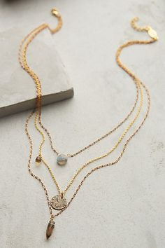 Aussois Layered Necklace - anthropologie.com #giftsforher