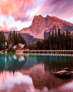 When the sky explodes. Yoho National Park, Emerald Lake, Canadian Rockies, Rocky Mountains, Sky, Explore, Nature, Travel, Instagram