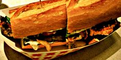 zagat.com  Washington: Salmon Sandwich From Market Grill - places to send visitors to Seattle