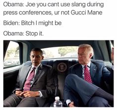 Former Vice President Joe Biden is running for the 2020 campaign as Obama-Biden democrat and we round up the best Joe Biden Memes for your viewing pleasure. Joe And Obama, Obama And Biden, Joe Biden, Biden Trump, Funny Quotes, Funny Memes, It's Funny, Funny Videos, Susa