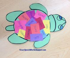 Crazy Speech World: Using Craftivities in Speech...And Sea Turtles!