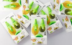 Clever! Creative Package Design Archive and Gallery: LÉKUÉ Citrus Spray
