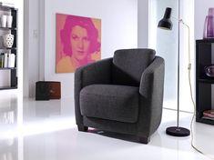 Elegantní a pohodlné samostatné křeslo, použitelné i jako doplněk k sedacím soupravám Floor Chair, Recliner, Lounge, Flooring, Furniture, Home Decor, Chair, Airport Lounge, Drawing Rooms