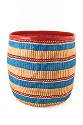 African Baskets | Woven Baskets | African Market Baskets