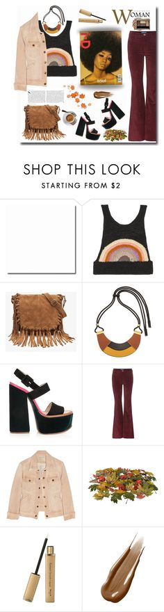 """Confident woman"" by gul07 ❤ liked on Polyvore featuring Anna Sui, Forever 21, Marni, Victoria Beckham, M.i.h Jeans, Current/Elliott, Kershaw and Hourglass Cosmetics"