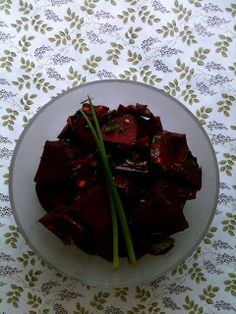 Passionately raw!: Raw Beet Salad With Fresh Herbs and Ginger