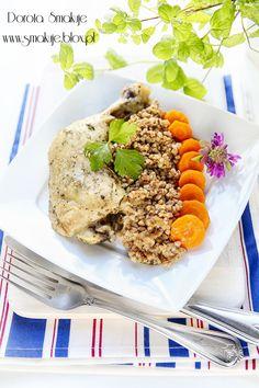 Kurczak na parze w ziołach dalmatyńskich