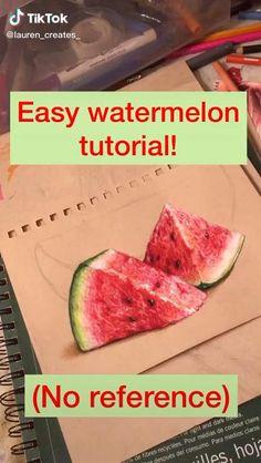 Easy Watermelon tutorial