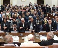 El papa Francisco en la conclusión de la cumbre de jueces y magistrados que se realizó este viernes en el Vaticano, les agradeció...