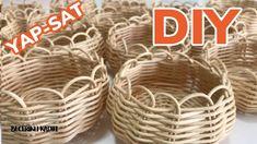 Basket Crafts, Peek A Boos, Decoration, Rattan, Diy And Crafts, The Creator, Knitting, Youtube, Creative