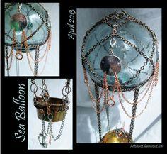 Sea Balloon Details by ~kitttiecatt on deviantART