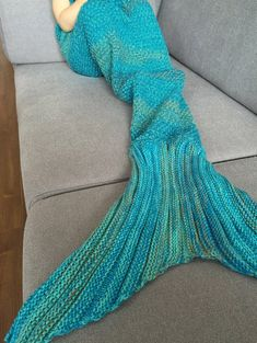 $8.18 Chic Quality Mermaid Design Blanket For Kids