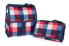Insulated lunch bag with cooling technology that chills like a fridge up to 10 hours