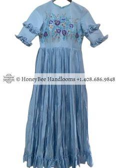 Indian Partywear DressesSilk dresslatest indian designer | Etsy - Nihira - HoneyBee Handlooms-Shaburis -  Indian Partywear DressesSilk dresslatest indian designer | Etsy  -