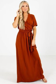 Beautiful Maxi Dresses, Cute Dresses, Perfect Body Shape, Wrap Dress, Dress Up, Boutique Maxi Dresses, Wrap Style, Special Occasion Dresses, Dress Making