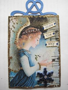 ATC with an Angel | by Donetta's Beaded Treasures