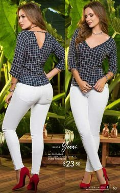 Trendy Fashion, Plus Size Fashion, Womens Fashion, Girly Outfits, Chic Outfits, Vetement Fashion, Dressy Tops, Work Casual, Blouse Designs