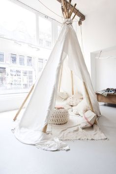 If I could build myself a teepee...this would be it.