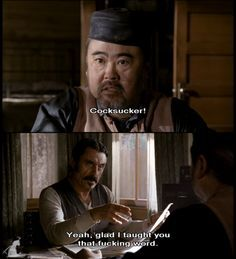 woo you mother fucking cocksucker deadwood quotes - Google Search