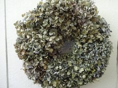 Hydrangea Wreath   Mother's Day Gift  Natural Wreath Dried