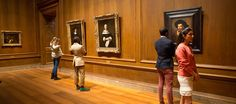 The National Gallery of Art's collection spans two major buildings