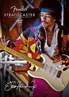 Coachella, Inspirer Les Gens, Black Music Artists, Jimi Hendrix Poster, Rock Poster, Stratocaster Guitar, Jimi Hendrix Experience, Rock Legends, Blues Rock