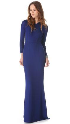 Jenni Kayne Slit Back Gown 795