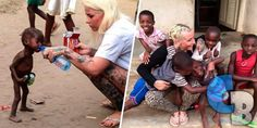 ¿Recuerdas a la mujer que adoptó al niño nigeriano?; es la Persona más Inspiradora del 2016