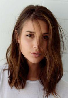 75 Best Frisuren Für Braune Haare Images On Pinterest Haircolor