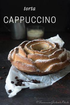 Una colazione perfetta con foto passo passo.. Torta cappuccino con caffè istantaneo #giallozafferano #ricette #ciambella