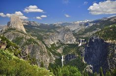 View from the Panorama Trail, Yosemite NP
