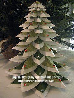 cool paper tree! Cricut