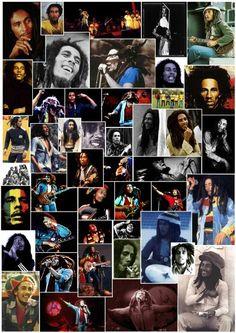 """Bob Marley_""""eu só quero cantar as cores""""."""