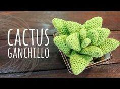 Tutorial de crochet/ganchillo, cactus facil de hacer. - YouTube